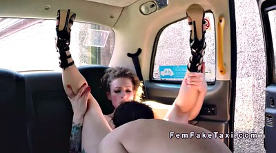 Fake taxi, Female, Public wank, Female fake taxi