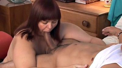 Sloppy, Chubby mature, Cougar milf