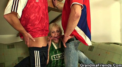 Mature, Milf and young, Two milfs, Mature fucked