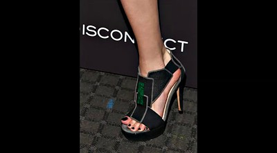 Celebrity, Mixed, Feet heels, Celebrity feet