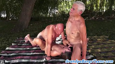 Old men, Gay creampie