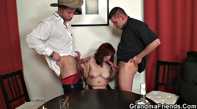 Wife threesome, Stripped