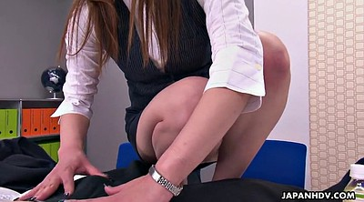 Japanese teen, Japanese office