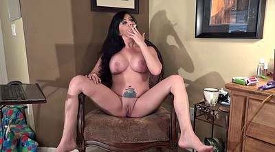 Mature big tits, Mature tits, Smoking mature, Wide, Spread wide