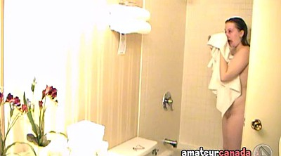 Chubby, Motel, Hidden shower, Take a shower, Shower voyeur, Hidden hotel