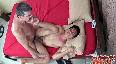 Dad, Gym, Young asian, Gay asian, Asian gym, Young gay