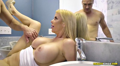 Alexis fawx, Bathroom, Shower fuck