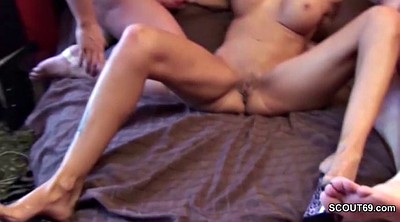 Seducing, German mom, Old mom, Old man threesome, Mom hot