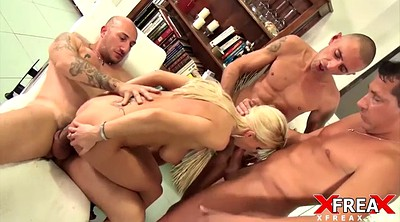 Italian, Italian anal, Gangs, Mature blonde, Mature gang bang, Mature double