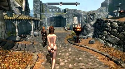 Spanks, Skyrim, Escape, Cartoon bdsm, Bdsm cartoon