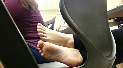 Foot fetish, College, Class