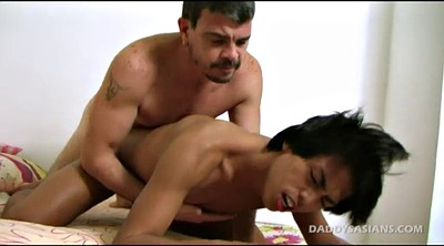 Father, Asian old, Asian black, Daddies, Old and young, Black old