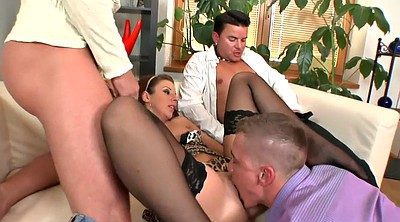 Mouth, Gangbang anal, Mouth fetish