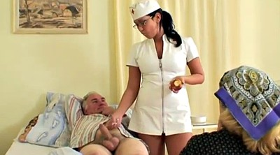 Naughty, Old couple, Mature threesome