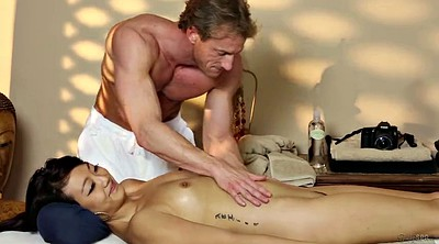 Father, Stepdaughter, Massage asian, Asian father
