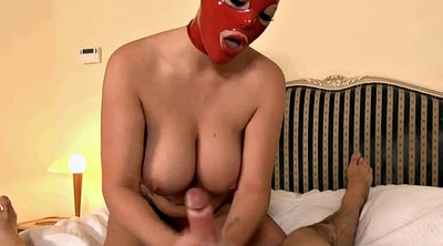 Red, Latex mask