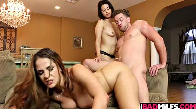 Teen threesome, Miss raquel