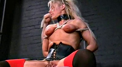 Tie, Tied, Leather, Electro, Sex slave