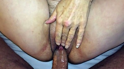 Mature creampie, Married