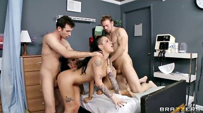 Hospital, Two girl, Orgy anal, Office sex, Big tits office