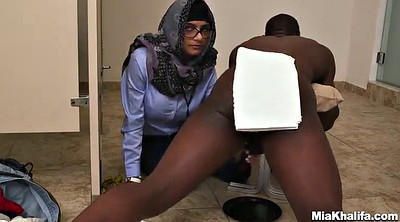 Milking, Mmf, Glasses, Threesome interracial