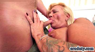 Hairy milf, Pornstar, In mouth, Cum in pussy