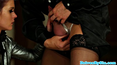 Crossdressers, Sun, Crossdresser blowjob