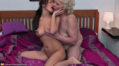 Granny, Taboo, Lesbian old young, Old and young lesbian