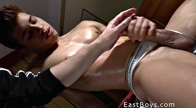 Gay casting, Cock massage