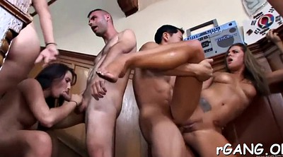 Gay gangbang, Party fuck