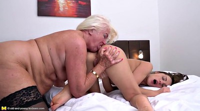 Lesbian milf, Young girl, Old young lesbian