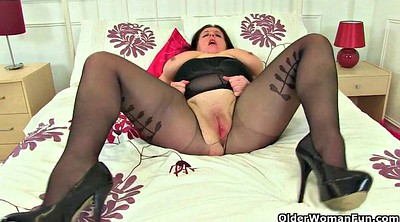 Milf nylon, Mature pantyhose, British mature