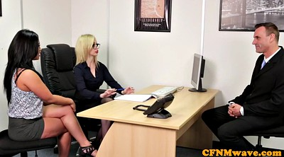 Cfnm, Office sex