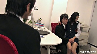 Japanese office, Japanese blowjob, Internal