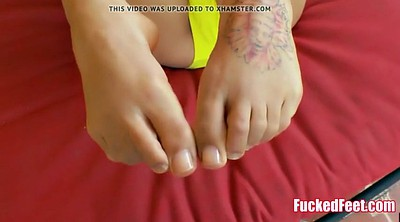 Footjob, Footjob teen, First