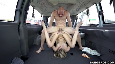 Tall, Skinny, Car, Bangbus, Tall girl