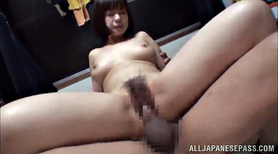 Asian double, Asian threesome, Amateur threesome