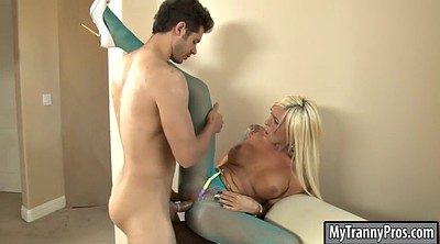 Aubrey kate, Shemale pantyhose, Kate, Blonde shemale, Anal pantyhose, Shemale anal