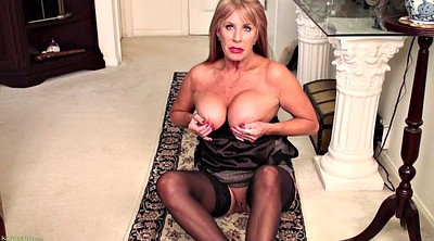 Mature mom, Stocking mom, Solo mom