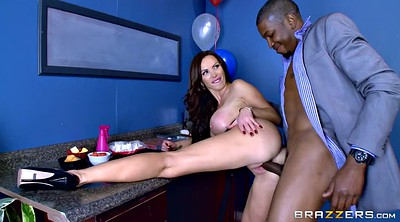 Nikki benz, Office, Nikki, Hard, Huge black cock, Milf blacked