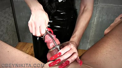 Mistress handjob, Sounding