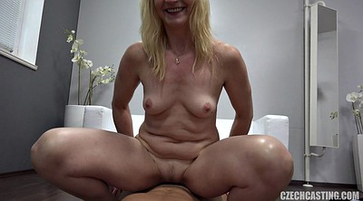 Anal casting, Mature casting, First porn