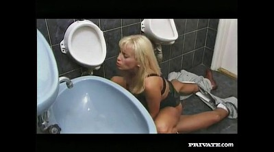 Vintage anal, Bathroom sex