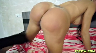 Young creampie, Brazilian shemale