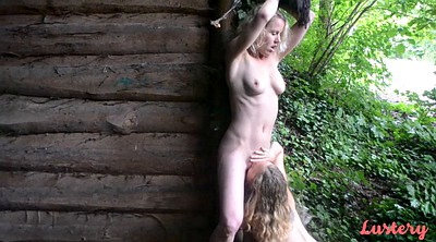 Tied, Woods, Tied up, Tit hd