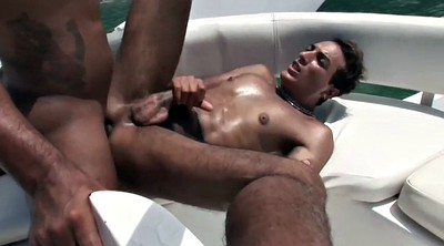 Bukkake, Boat, Sexy blowjob, Beach masturbation