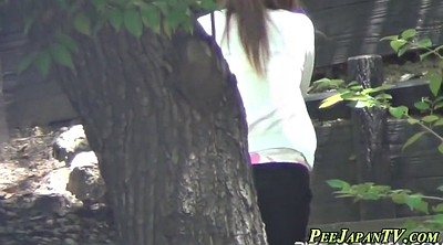 Japanese hairy pussy, Asian piss