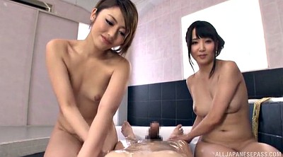 Asian foot, Threesome asian