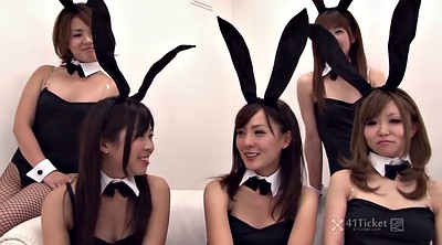 Japanese beauty, Bunny, Uncensored