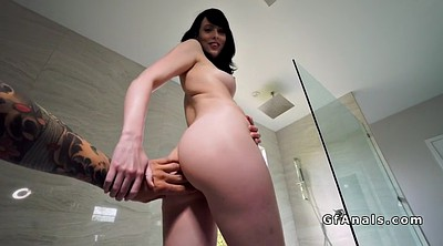 Hairy anal, Shower fuck, Shower anal